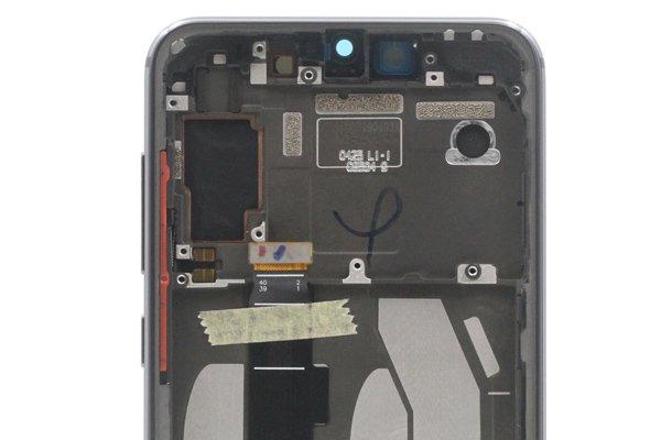 Xiaomi(小米)Mi9SE フロントパネルASSY ブラック 交換修理 [3]