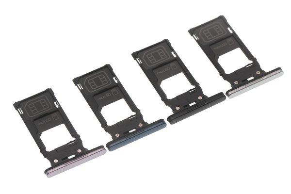 【ネコポス送料無料】Xperia XZ2 SIM & マイクロSDカードトレイ 全4色 [1]