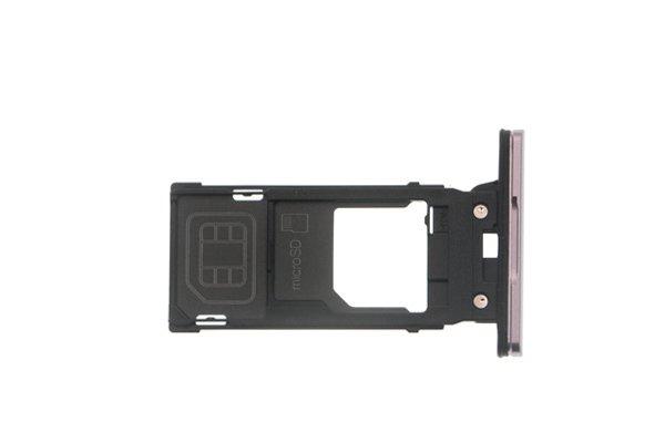 【ネコポス送料無料】Xperia XZ2 SIM & マイクロSDカードトレイ 全4色 [2]