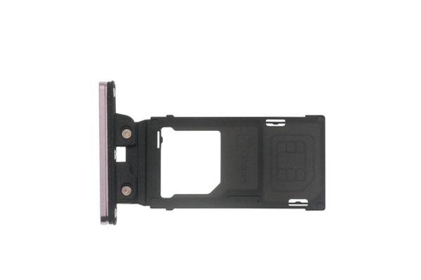 【ネコポス送料無料】Xperia XZ2 SIM & マイクロSDカードトレイ 全4色 [3]