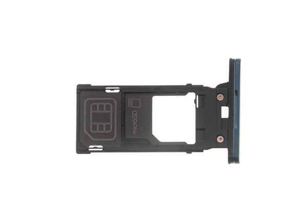 【ネコポス送料無料】Xperia XZ2 SIM & マイクロSDカードトレイ 全4色 [4]