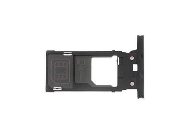 【ネコポス送料無料】Xperia XZ2 SIM & マイクロSDカードトレイ 全4色 [6]