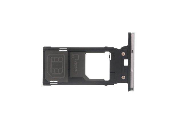 【ネコポス送料無料】Xperia XZ2 SIM & マイクロSDカードトレイ 全4色 [8]