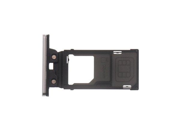 【ネコポス送料無料】Xperia XZ2 SIM & マイクロSDカードトレイ 全4色 [9]
