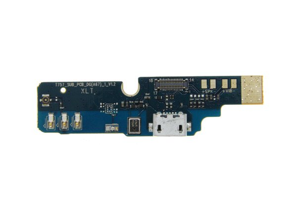 DOOGEE BL12000pro マイクロUSBコネクターボードASSY 交換修理 [1]
