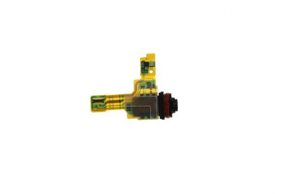 【ネコポス送料無料】Xperia XZ1 Compact(SO-02K)イヤホンジャックケーブル [3]
