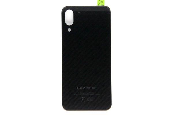 【ネコポス送料無料】UMIDIGI One Pro バックカバー ブラック [1]