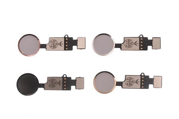 【ネコポス送料無料】iPhone8 iPhone8 Plus共通 汎用ホームボタン 全4色 [1]