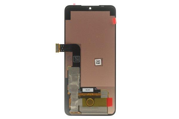 LG G8X ThinQ フロントパネル ブラック 交換修理 [2]