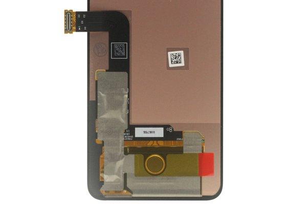 LG G8X ThinQ フロントパネル ブラック 交換修理 [4]