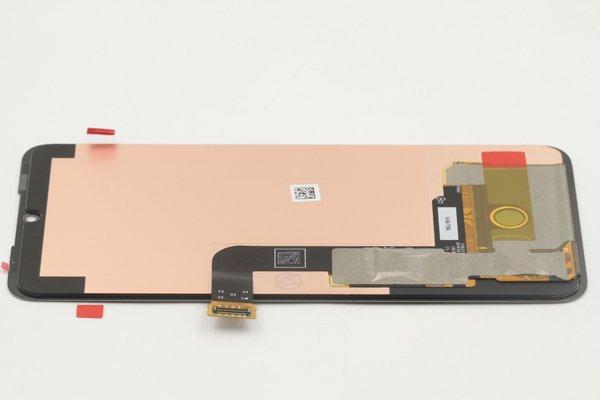 LG G8X ThinQ フロントパネル ブラック 交換修理 [6]