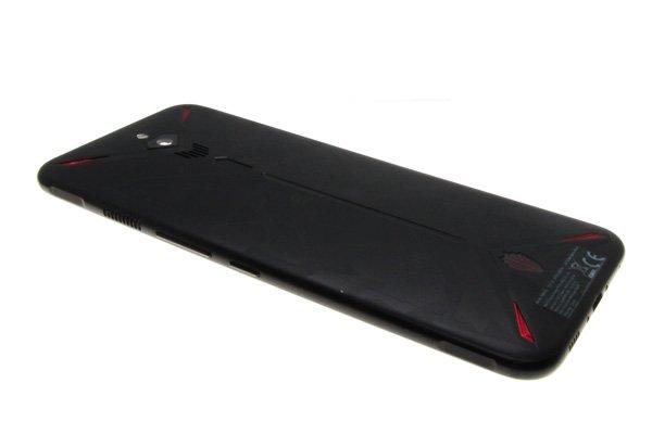 【ネコポス送料無料】ZTE Nubia Red Magic3(NX629J)バックカバー ブラック [6]