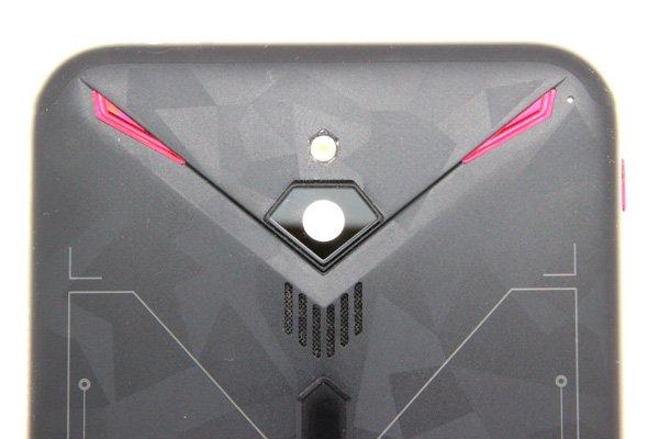 【ネコポス送料無料】ZTE Nubia Red Magic3(NX629J)バックカバー ブラック [8]