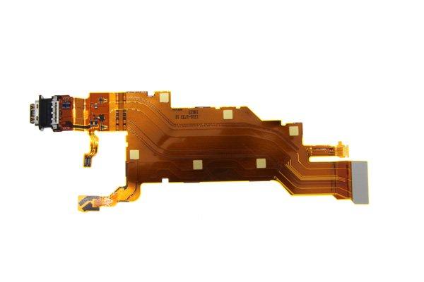 【ネコポス送料無料】Xperia XZ2 Premium(SO-04K)USB TYPE-C コネクター FPCケーブル [3]