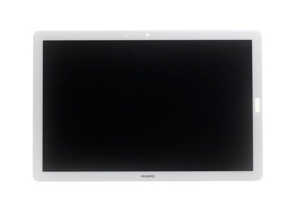 Huawei MediaPad M5(CMR-W09)フロントパネル交換修理 ブラック [2]