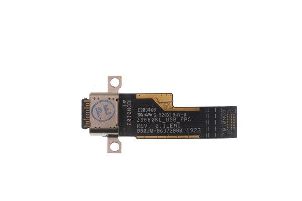 ASUS ROG Phone2(ZS660KL)USB TYPE-C コネクター 交換修理 [3]
