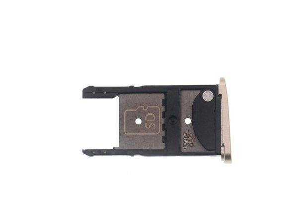 【ネコポス送料無料】Motorola Moto Z Play(XT1635-02)SIMカードトレイ 全2色 [2]