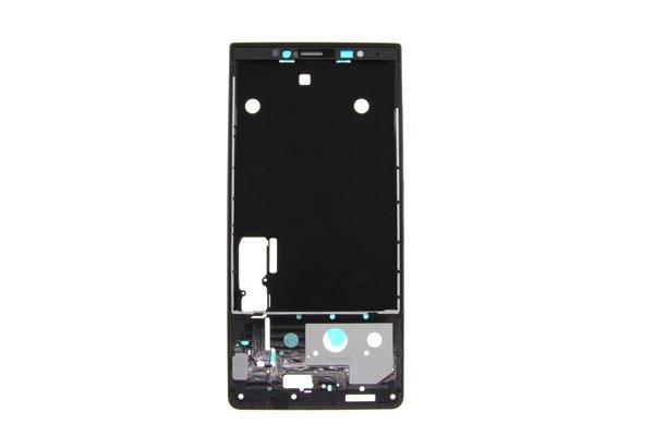 【ネコポス送料無料】Blackberry KEY2 フレーム ブラック [1]