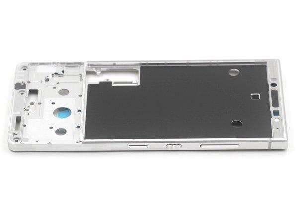 【ネコポス送料無料】Blackberry KEY2 フレーム シルバー [5]