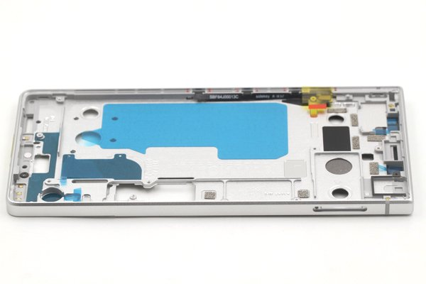 【ネコポス送料無料】Blackberry KEY2 フレーム シルバー [6]