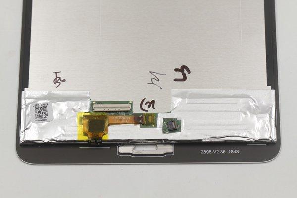 dtab Compact d-02K フロントパネル交換修理 ホワイト [4]