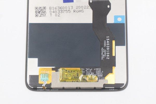 Motorola Moto G8 Power フロントパネル交換修理 ブラック [6]