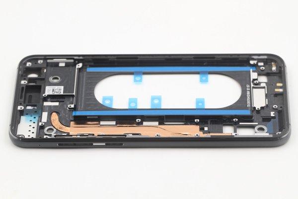 【ネコポス送料無料】Zenfone4 Pro(ZS551KL)ミドルフレーム ブラック [4]