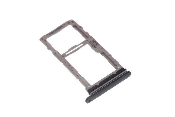 【ネコポス送料無料】LG G8X ThinQ SIMカードトレイ ブラック [1]