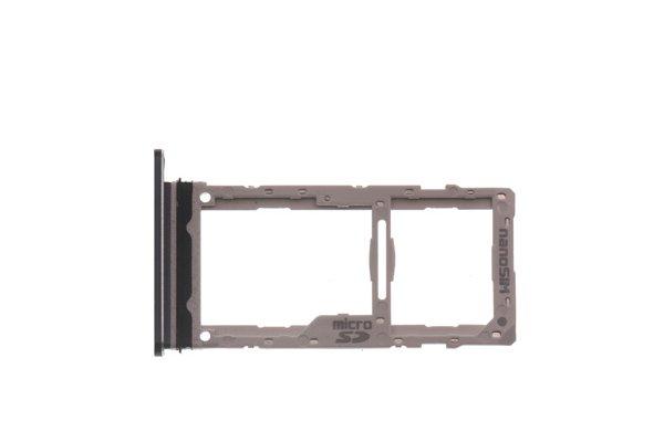 【ネコポス送料無料】LG G8X ThinQ SIMカードトレイ ブラック [2]
