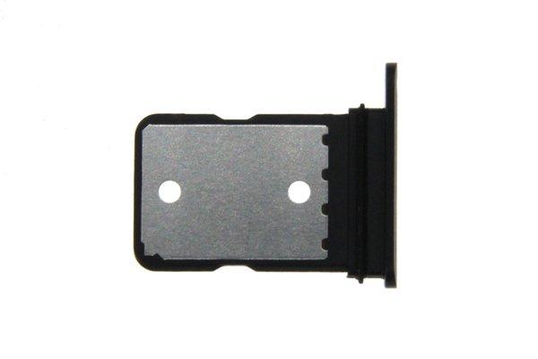 【ネコポス送料無料】Google Pixel4 XL SIMカードトレイ ブラック [2]