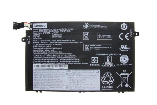 【ネコポス送料無料】Lenovo ThinkPad E585 純正バッテリー L17L3P51 11.1V 4050mAh [1]