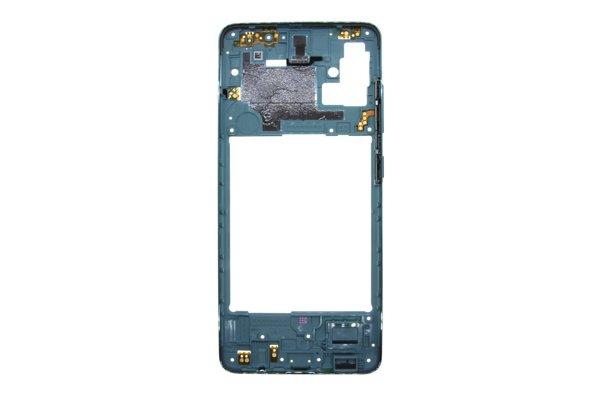 【ネコポス送料無料】Galaxy A51(SM-A515F/DSN)ミドルフレーム ブルー [2]