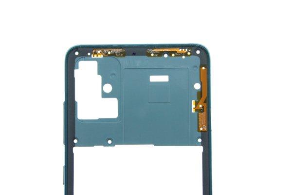 【ネコポス送料無料】Galaxy A51(SM-A515F/DSN)ミドルフレーム ブルー [3]