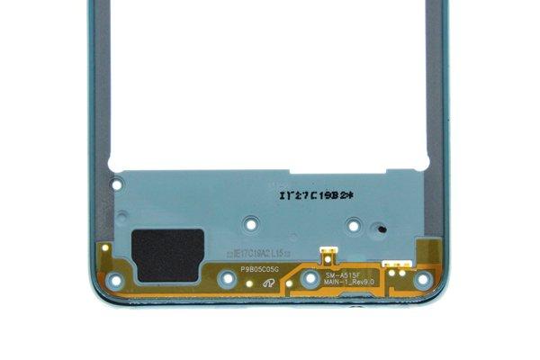 【ネコポス送料無料】Galaxy A51(SM-A515F/DSN)ミドルフレーム ブルー [4]