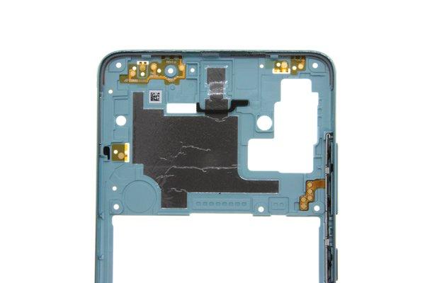 【ネコポス送料無料】Galaxy A51(SM-A515F/DSN)ミドルフレーム ブルー [5]