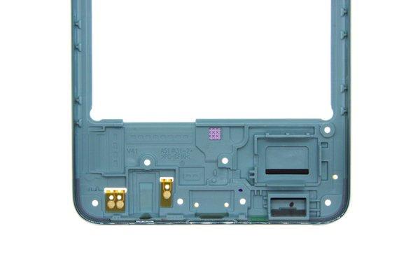 【ネコポス送料無料】Galaxy A51(SM-A515F/DSN)ミドルフレーム ブルー [6]