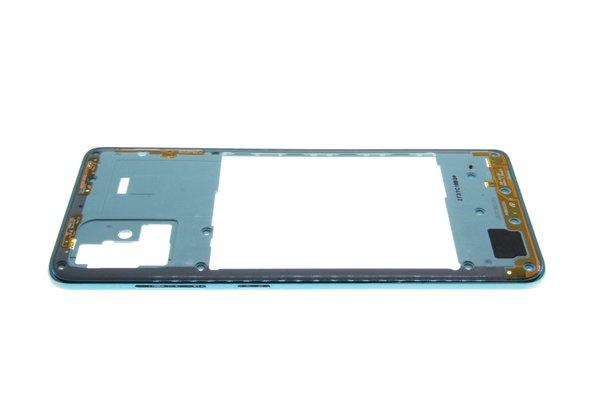 【ネコポス送料無料】Galaxy A51(SM-A515F/DSN)ミドルフレーム ブルー [7]