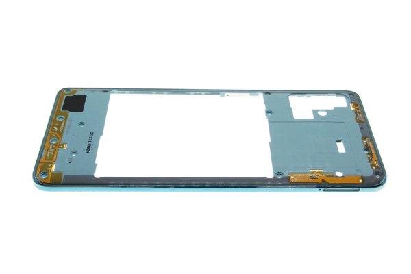 【ネコポス送料無料】Galaxy A51(SM-A515F/DSN)ミドルフレーム ブルー [8]
