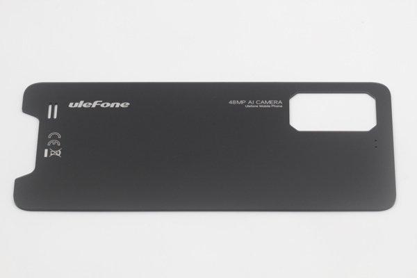 【ネコポス送料無料】Ulefone Armor 7 バックカバー ブラック [4]
