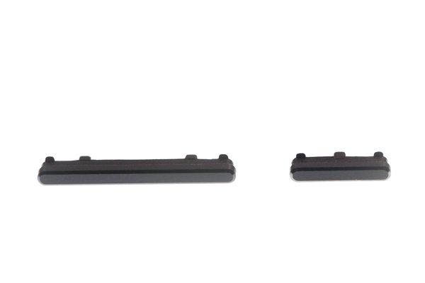 【ネコポス送料無料】Zenfone4 Pro(ZS551KL)サイドキーセット ブラック [1]