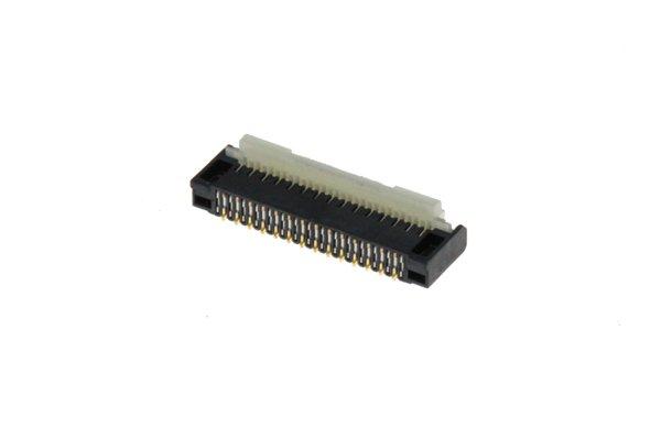 ニンテンドースイッチライト マザーボードTOサブボード FPCコネクター交換修理 [3]