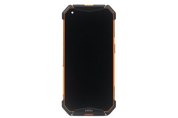 Ulefone Armor 3w フロントパネルASSY オレンジ 交換修理 [1]