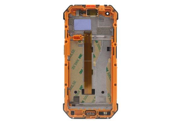 Ulefone Armor 3w フロントパネルASSY オレンジ 交換修理 [2]