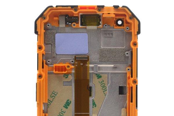 Ulefone Armor 3w フロントパネルASSY オレンジ 交換修理 [3]