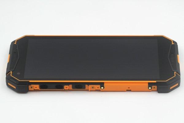 Ulefone Armor 3w フロントパネルASSY オレンジ 交換修理 [6]