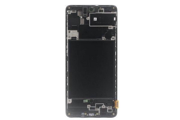 Galaxy A71 (SM-A715F) フロントパネルASSY ブラック 交換修理 [2]