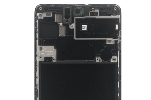 Galaxy A71 (SM-A715F) フロントパネルASSY ブラック 交換修理 [3]