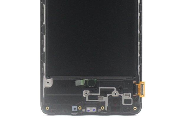 Galaxy A71 (SM-A715F) フロントパネルASSY ブラック 交換修理 [4]