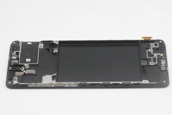 Galaxy A71 (SM-A715F) フロントパネルASSY ブラック 交換修理 [6]