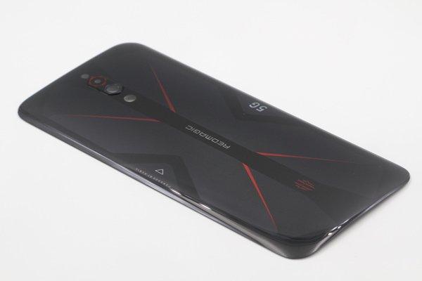 Nubia Red Magic 5G バックカバー ブラック 交換修理 [5]